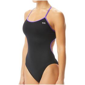 TYR Hexa Trinityfit Swimsuit Women, zwart/rood